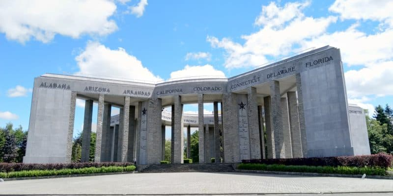 Bastogne war monument