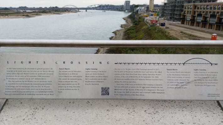 Sunset March plaque